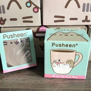 Pusheen mug and warmer new in box
